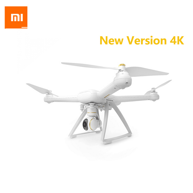 все цены на In Stock 2017 New Original Xiaomi Mi Drone 4K Version WIFI FPV With 30fps Camera 3-Axis Gimbal RC Quadcopter RTF онлайн