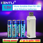 4pcs KENTLI 1.5v 118...