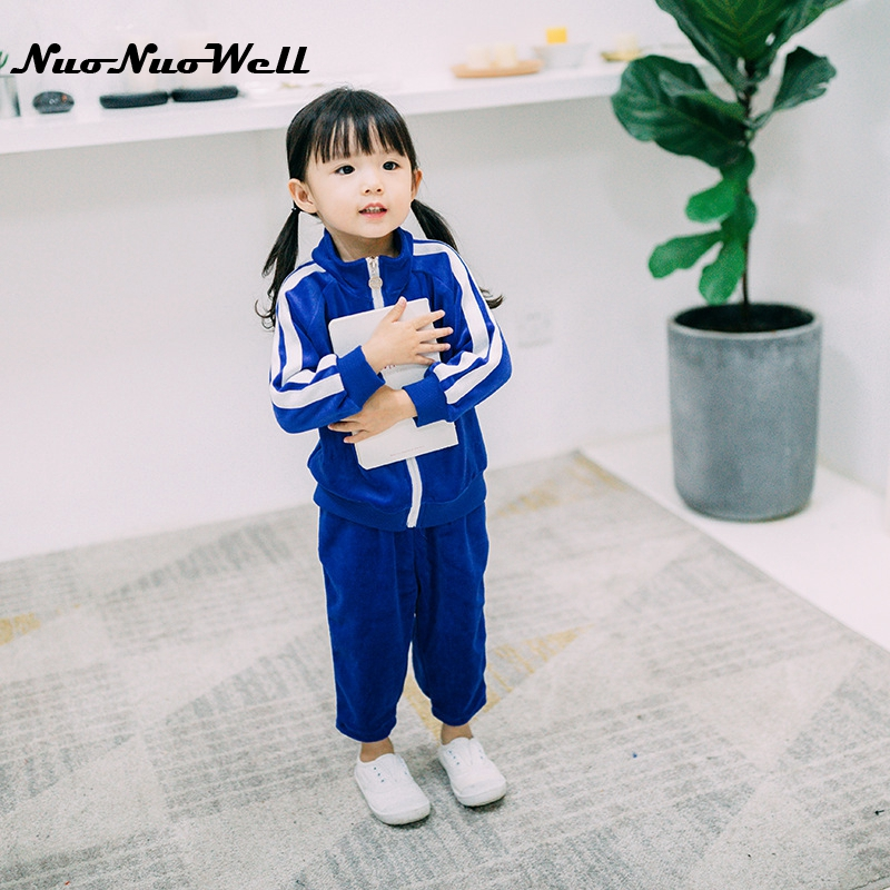 NNW Baby Autumn Clothing Sets Casual Tracksuits Zipper Jackets Coat+Pants 2pcs Sports Suit Kids Outfits Boys And Girls Outwear nnw autumn new baby boys clothes 3pcs