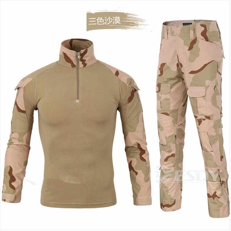 Армия мягкие весенние пневматический пистолет форма лягушка CP камуфляжные брюки струй Лесной БДУ спортивный костюм мужчин костюм 2017 размеры S M L XL xxl XXXL