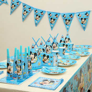 153pcs/lot Cartoon Mickey Kids Happy Birthday Party Decoration Set Baby Shower Party Pack Event Party Supplies Favors - DISCOUNT ITEM  40% OFF All Category
