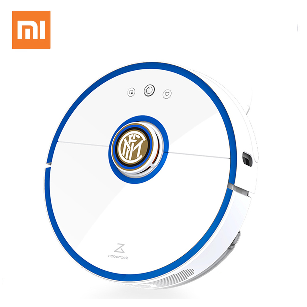Xiaomi Vacuum Cleaner S52 Mi Roborock Sweeping Robot Centennial Inter Milan Custom Edition with Football Star Voice Package free shipping the new popular wedding special heart shaped acrylic podium organic glass church pulpit