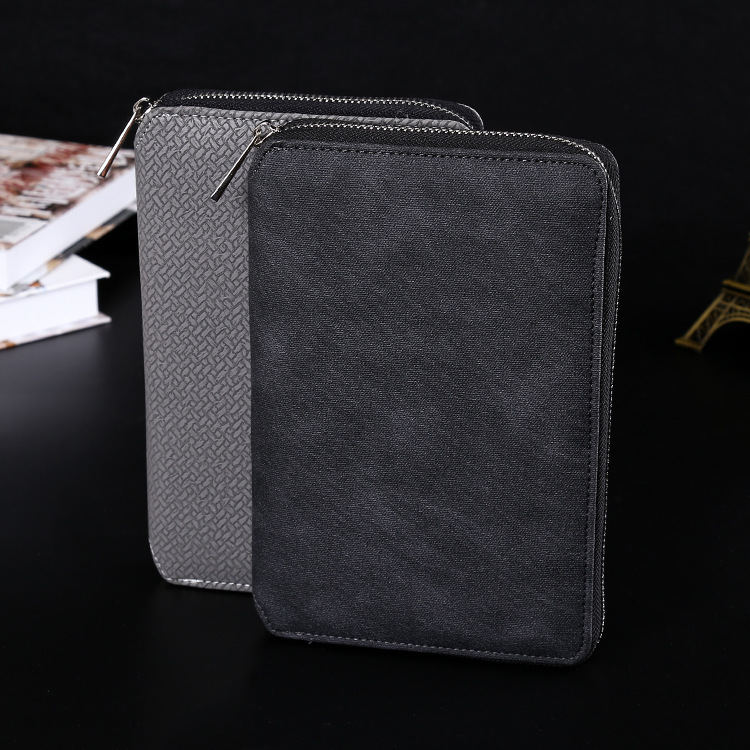2017 A5 Size 14*21 cm Zipper Bag Paper Notebook Business Office Stationery Diary Note Book Agenda Journal Planner diary 2017 13 18 cm blank plain notepad notebook diary fleshiness plant printing note book agenda journal planner stationery