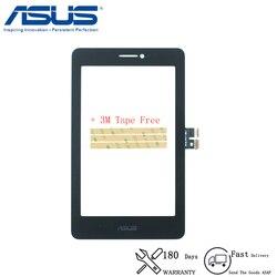 Oryginalny Asus Fonepad 7 Memo HD 7 ME175 ME175CG K00Z ekran dotykowy Panel szkło Digitizer czujnik wymiana naprawa części Ekrany LCD i panele do tabletów    -