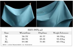 Image 3 - ホット販売シームレスパンティー 5 ピース/セットファッション女性超薄型下着アイスシルクミッドウエストのセクシーなブリーフ