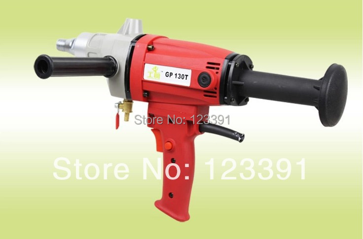 цена на Promotion sale of 1set of 1750w professional Handheld water diamond core drilling machine air conditioner hole drilling machine