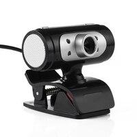 Высокое разрешение 1280*720 720 P 4 LED HD Веб-камеры веб-Камера с Ночные светильники для компьютера Высокое качество