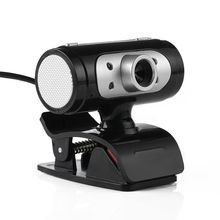 High Definition 1280*720 720p Pixel 4 LED HD Webcams Web Cam Camera With Night Lights For Computer High Quality(China)