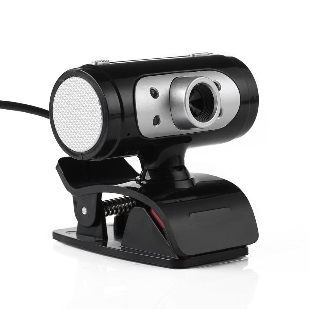 1280x720 720p פיקסל 4 LED מצלמת אינטרנט עם מצלמת לילה אורות עבור