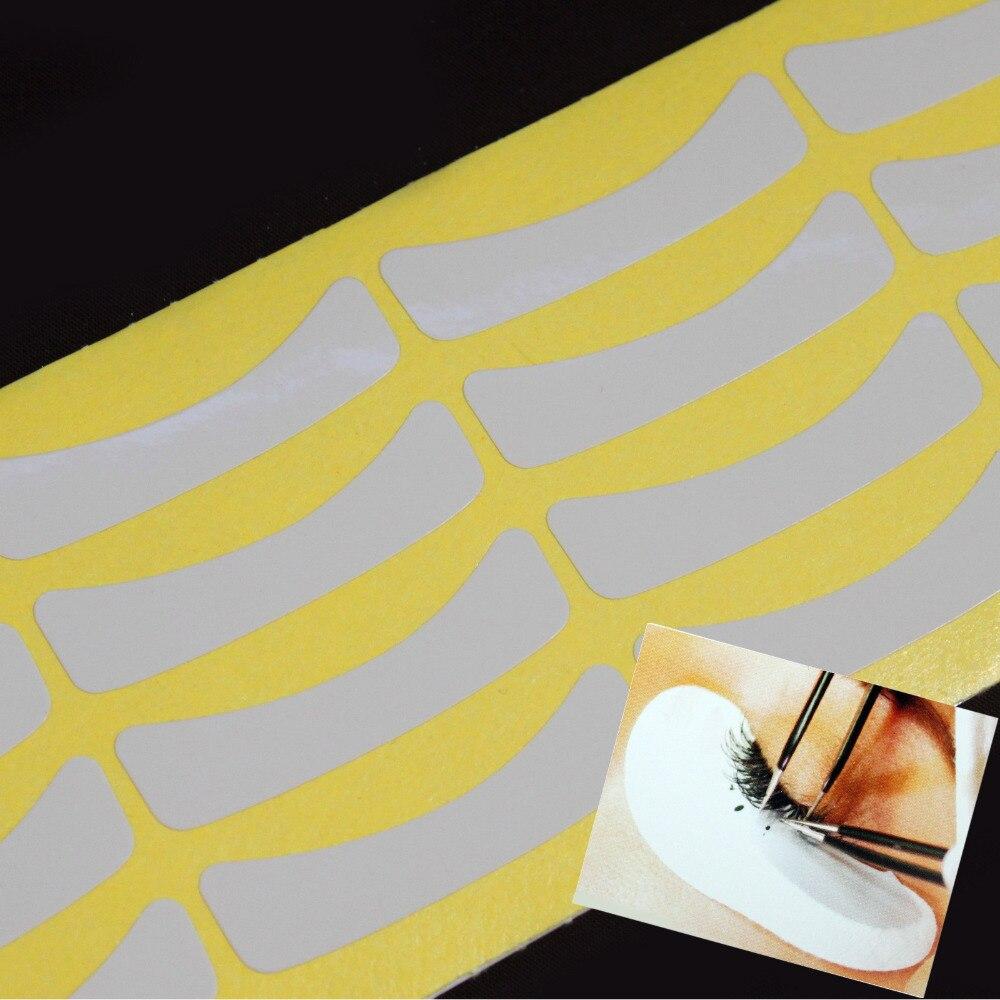 Новый 100 пар ресниц Lash индивидуальный расширения Инструменты питания медицинская лента
