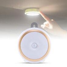 Современный светодиодный ночник USB зарядки датчик фонари заднего фонарь для чтения Спальня прикроватные лампы внутреннего освещения