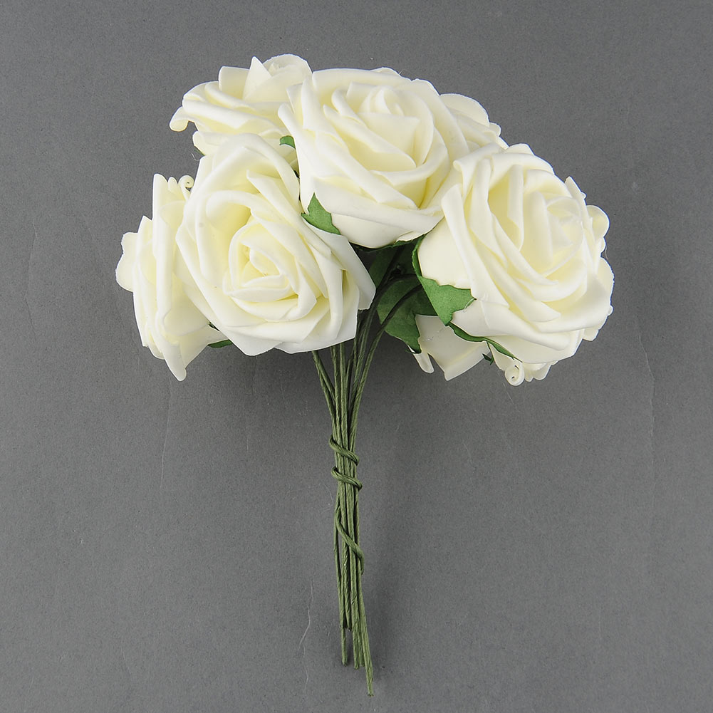 Pretty charming 10 heads lovely cute artificial rose flower wedding pretty charming 10 heads lovely cute artificial rose flower wedding bridal bouquet home decor 2 color in artificial dried flowers from home garden on mightylinksfo