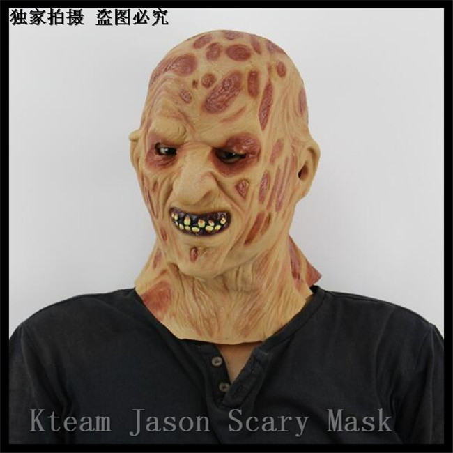 Zombie Freddy mask Halloween <font><b>terror</b></font> ghost Mummy latex silicon horror mask Masquerade prom party masks Christmas grimace masks image