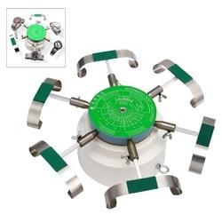 110 v/240 v automatyczne sterowanie-Test Cyclotest zegarek Tester zegarek maszyna do testowania zegarek szyb dla sześciu zegarki w jeden raz wybrać