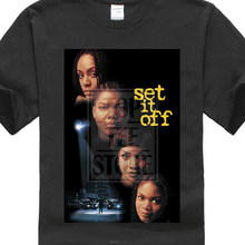 Set It Off V3 T Shirt Black Movie Poster All Sizes S 5xlfunny Printing T Shirts Men Short Sleeve T Shirts Personality(China)