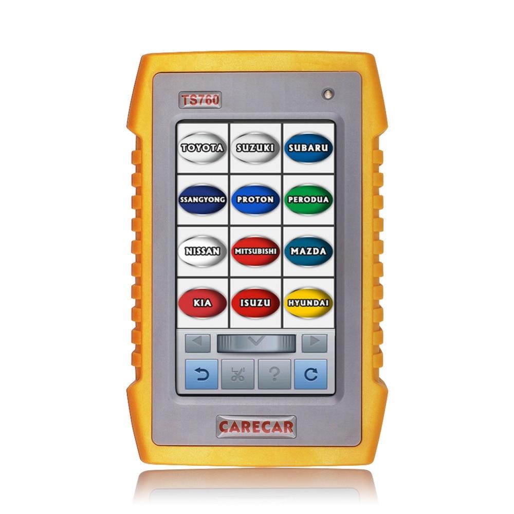 TS760 OBD2 Car Diagnostic Tool Four System OBD2 Scanner ABS Airbag SRS Transmission Automotive scanner In Polish