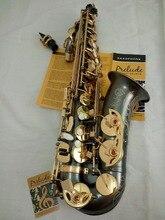 Freies Verschiffen Hohe qualität Selmer 54 E Altsaxophon schwarz Nickel Gold Saxophon Promotions musikinstrument Gold key schwarz