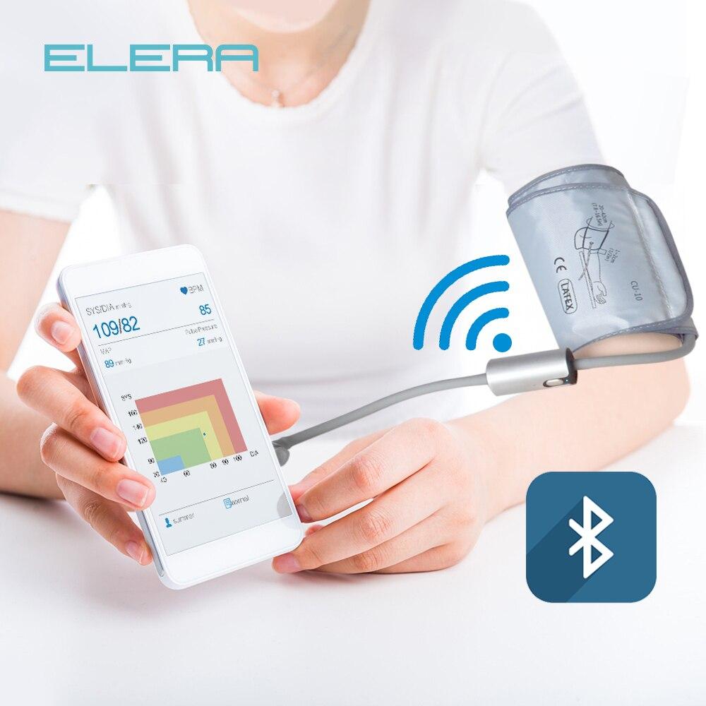 Haute-équipée Intelligent Tensiomètre Portable Tensiomètre Plus Précis de La Tension Artérielle Mètre Rechargeable Tonomètre