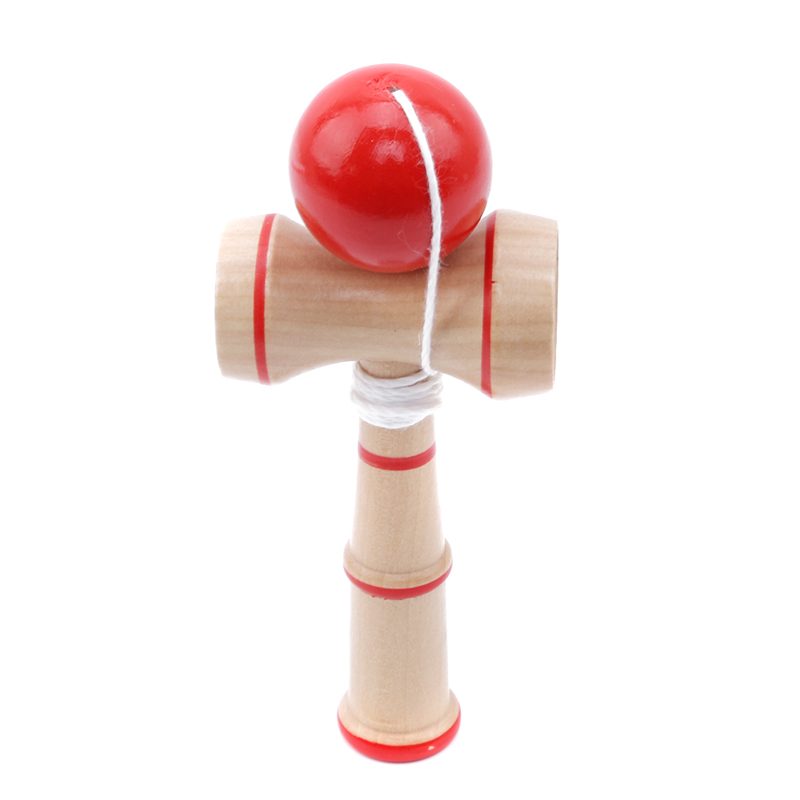 New High Quality Safety Toy Bamboo Kendama Best Wooden Toys Kids Toy Stress Ball Education Toys For Children