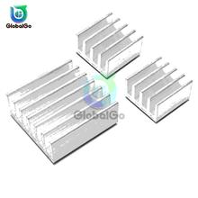 3pcs/set Aluminum Heatsink Heat Sink Radiator Cooling Cooler For Electronic Chip IC LED Computer