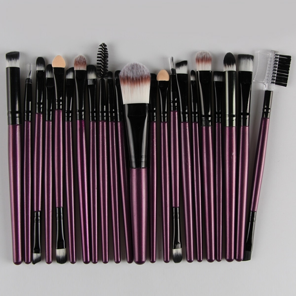 Professional 22pcs Cosmetic Makeup Brushes Set Blusher Eyeshadow Powder Foundation Eyebrow Lip Make Up Brush Kit professional 22pcs cosmetic makeup brushes set blusher eyeshadow powder foundation eyebrow lip make up brush kit