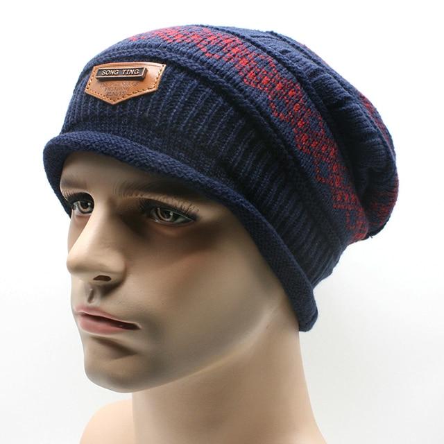 Winter cap bad hair day bonnet homme hiver de marque 2015 bonnet men hiver  skullies beanies hip hop skullies beanies 6e3a7a3bb42