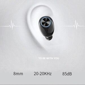 Image 5 - الحقيقي سماعة ستيريو سماعة لاسلكية تعمل بالبلوتوث 5.0 سماعات عالية الجودة سماعة رأس بخاصية البلوتوث ل هاتف ذكي V8 اثنين قناة سماعات