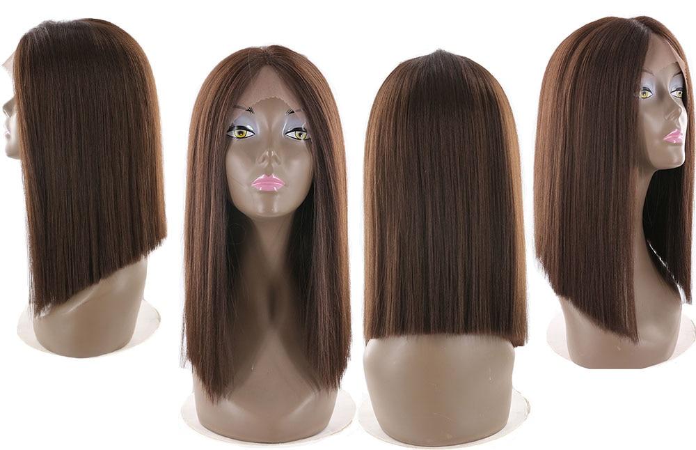 X-TRESS Höger Lace Front Parys Natural Hairline Värmebeständig - Syntetiskt hår - Foto 4
