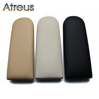 1pcs Car Center Console Armrest Cover Stickers For VW Golf 4 MK4 Jetta Bora Beetle For