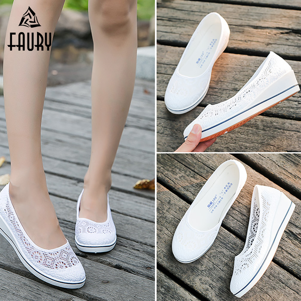 Nurse Shoes Medical Shoes Hospital Laboratory Beauty Salon SPA Work Shoes Breathable Nurse Doctor Slippers For Women
