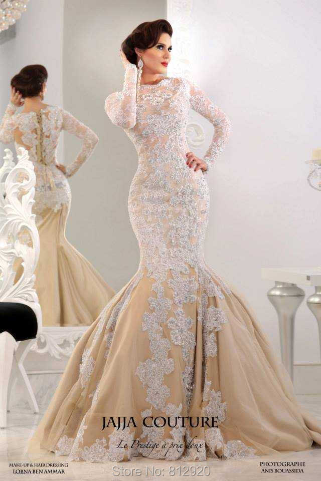 Awesome Champagne Mermaid Wedding Dresses Pictures - Styles ...