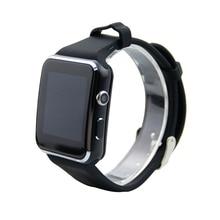 Jrgk X6 Bluetooth Smart часы электроники Беспроводные устройства Поддержка TF sim-карты Шагомер smartwatch с Камера для IOS Android