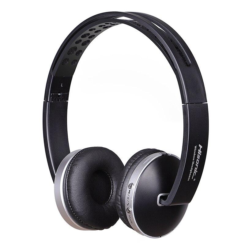 Hisonic Trådløse Hovedtelefoner Bluetooth Headset Stereo Foldbare - Bærbar lyd og video - Foto 6