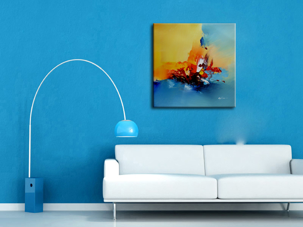 Canvas painting ideas abstract oil painting for living room beautiful decoration wall pictures for friends t in Painting Calligraphy from Home Garden