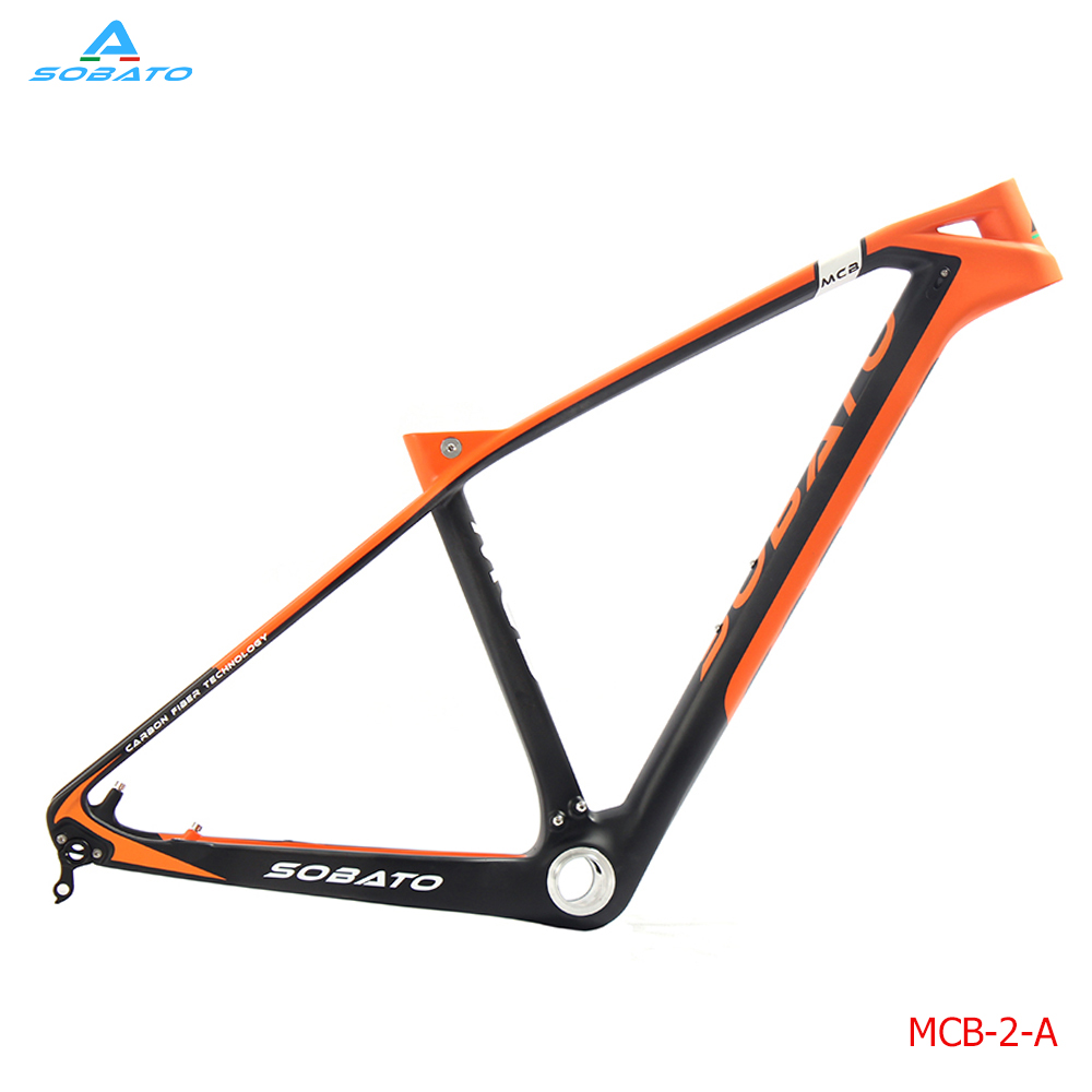 Carbon Frame 27.5 MTB 650b Carbon Mountain Bike Frame 27.5er Bicycle MTB Frame 16/19 Bicicletas Carbon MTB Frame PF30 2017 giant 26 mountain bike mtb frame atx pro