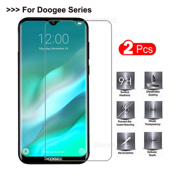 Перейти на Алиэкспресс и купить Закаленное стекло для Elephone A6 Mini защита экрана Защитное стекло для Elephone A5 Lite A4 Pro A7 A7H Защитная пленка для телефона