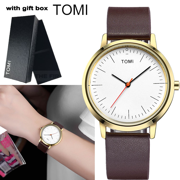 TOMI Fashion Quartz Watch Women Watches Ladies with Gift Box Top Brand Luxury Famous Female Clock Relogio Feminino Montre Femme women watches women top famous brand luxury casual quartz watch female ladies watches women wristwatches relogio feminino