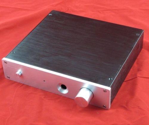 2204E Full Aluminum Headphone Chassis Preamplifier Enclosure AMP Box PSU Case