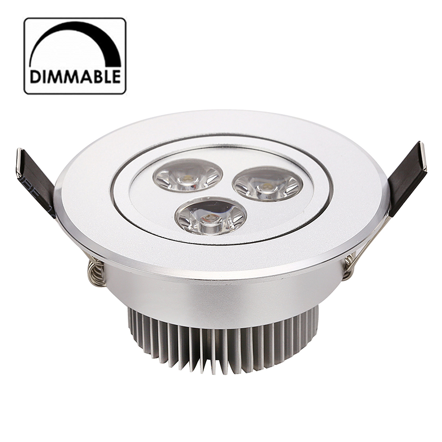 50 st / lot Ny 2015 3W 4W 5W Dimmbar led downlight AC 120V 220V - Inomhusbelysning - Foto 1