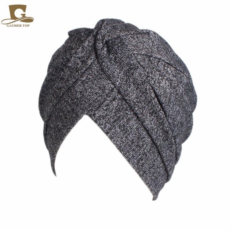 Frauen Baumwolle Motorhaube Kopfbedeckungen Turban Unbegrenzte 100% - Bekleidungszubehör - Foto 5