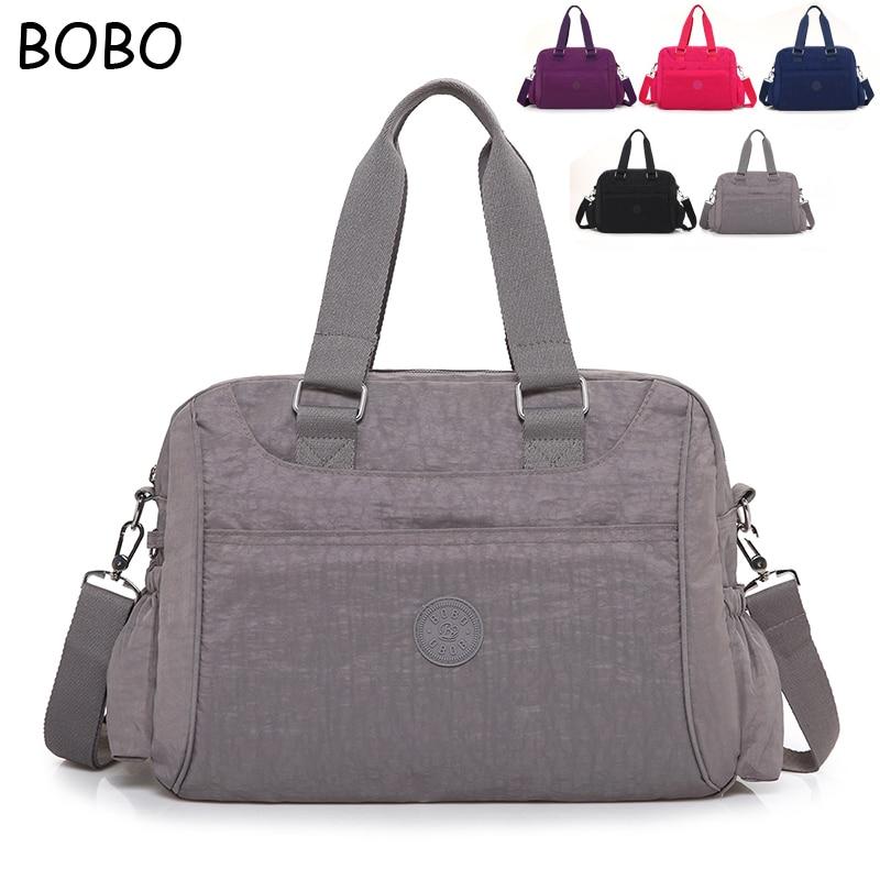 2019 New Vintage Waterproof Nylon Women's Handbags Fashion Casual Shoulder Bags Ladies Totes Large Capacity Women Messenger Bag