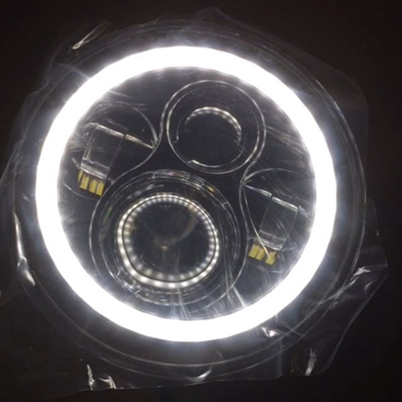7INCH բարձր / ցածր ճառագայթ LED - Ավտոմեքենայի լույսեր - Լուսանկար 6