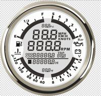 1pc Newest 6 In 1 Multifunction GPS Speedometer Tachometer Seven Kinds Backlight Color Choose Tuning Instrument