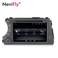 Android8.1 quad core 2din car dvd cassette radio stereo player for ssangyong kyron actyon with BT WIFI RDS FM 3G free shipping