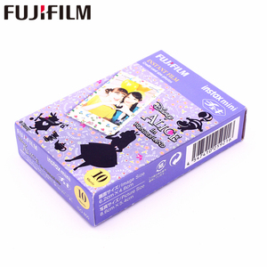 Image 4 - Fujifilm 10 sheets Instax Mini ALICE in Wonderland Instant Film fotopapier voor Instax Mini 8 7 s 25 50 s 90 9 SP 1 SP 2 Camera