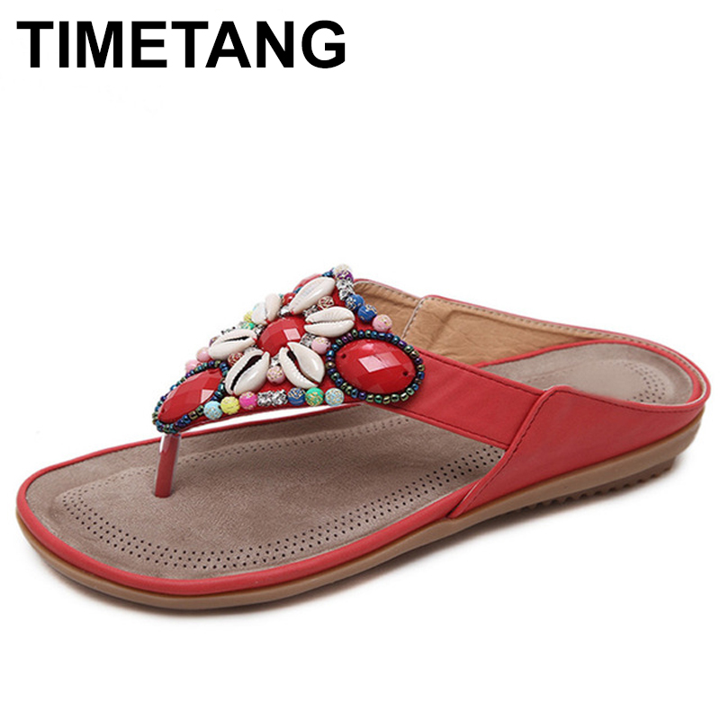 TIMETANG Summer women casual Comfortable Breathable sandals woman Soft bottom flip flop beach sandals fashion woman shoes C068 boys girls antislip usb sandals summer cut out comfortable flats beach sandals kids children breathable led shoes with light