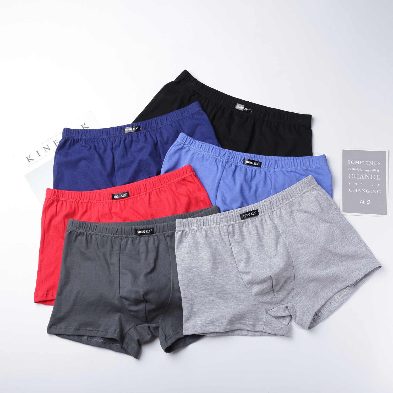 Caliente ropa interior de calidad 100% algodón de los hombres ropa interior  masculina clásico sólido c65c89821e50