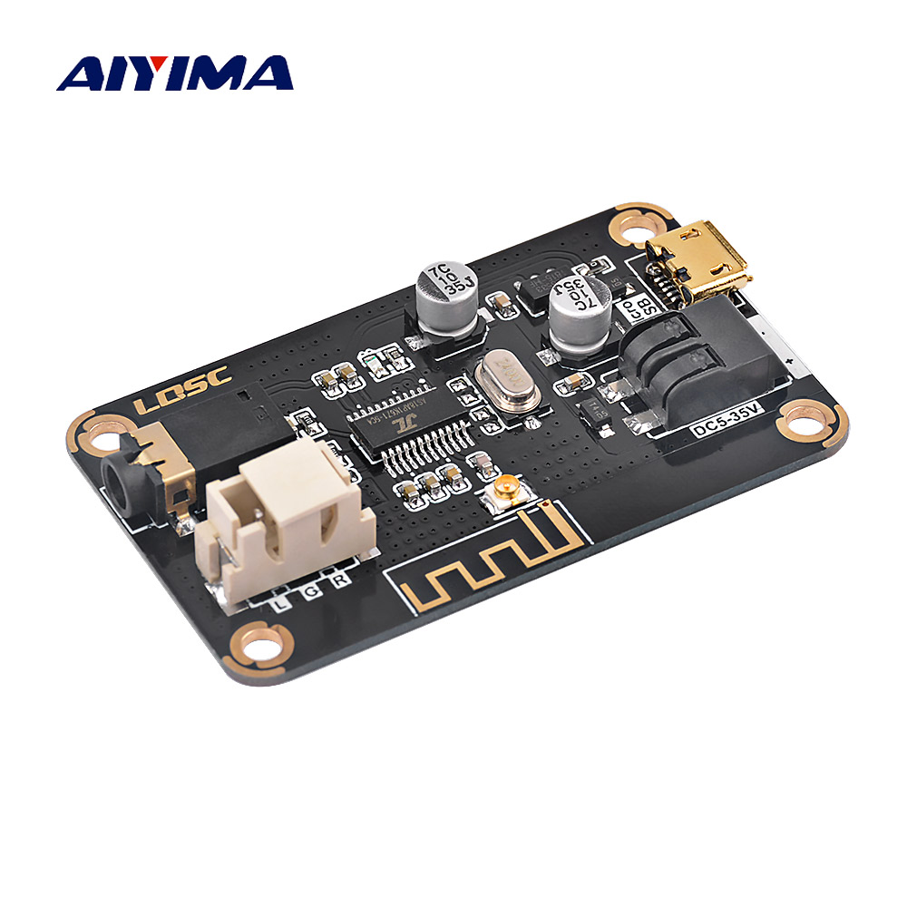 AIYIMA MP3 Bluetooth Decoder Board 4.2 Audio Receiver Module DIY Speaker Amplifier Modified Wireless Car