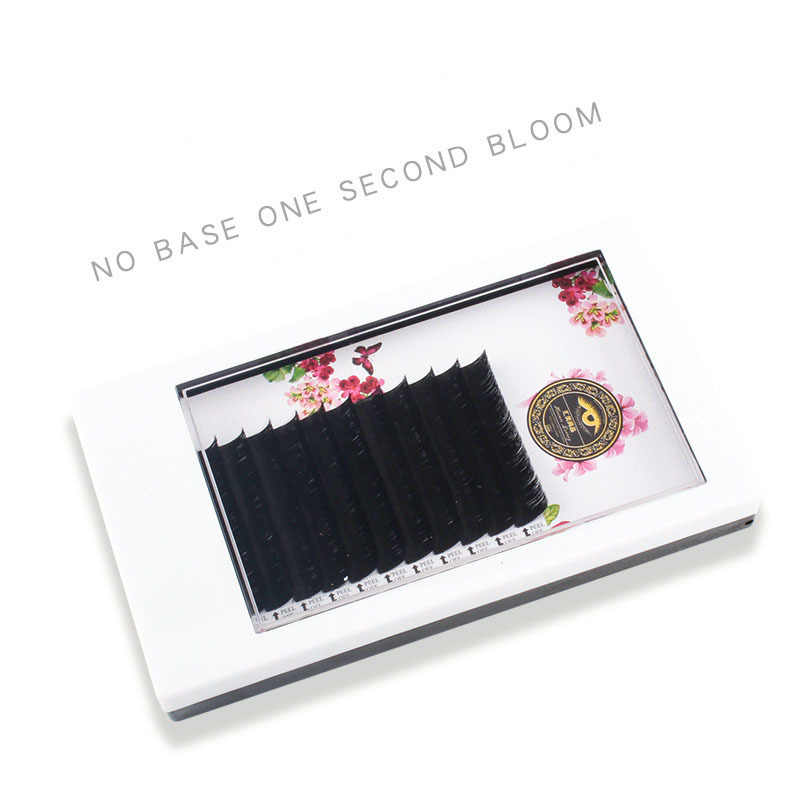 ce2672a2821 ... ZHIYOU 8 Cases Easy Fan Volume Mega Auto Bloom Grafting False Eyelashes  Extension Thick Novice Plant ...