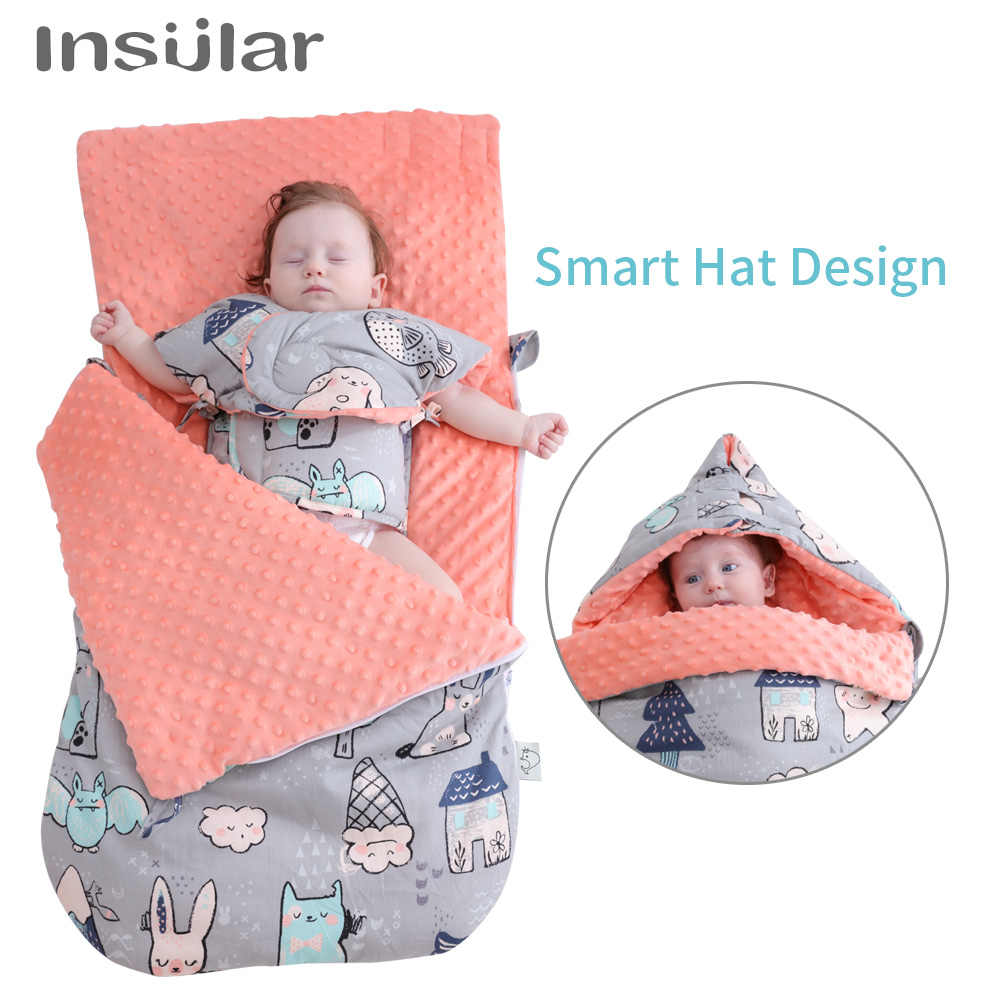 f7bab4bf2e15c4 ... Winter Baby Sleeping Bags Baby Cocoon Sleep Sacks Soft Warm Newborn  Envelope Sleep Bag Stroller Footmuff ...